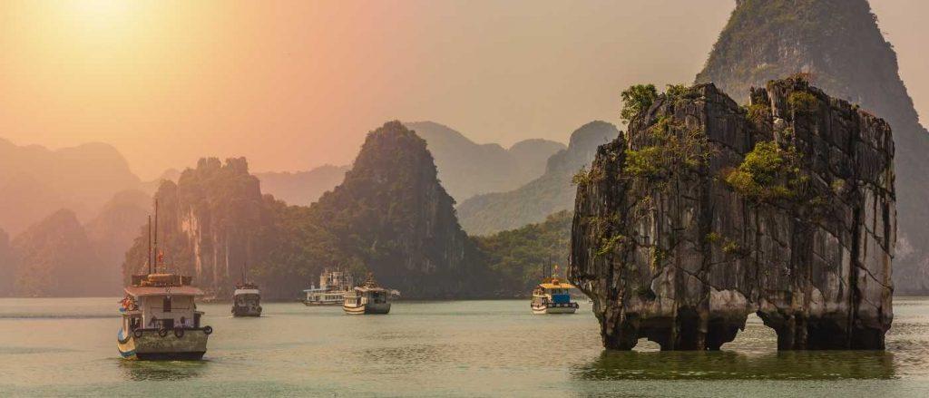 Zatoka w Wietnamie